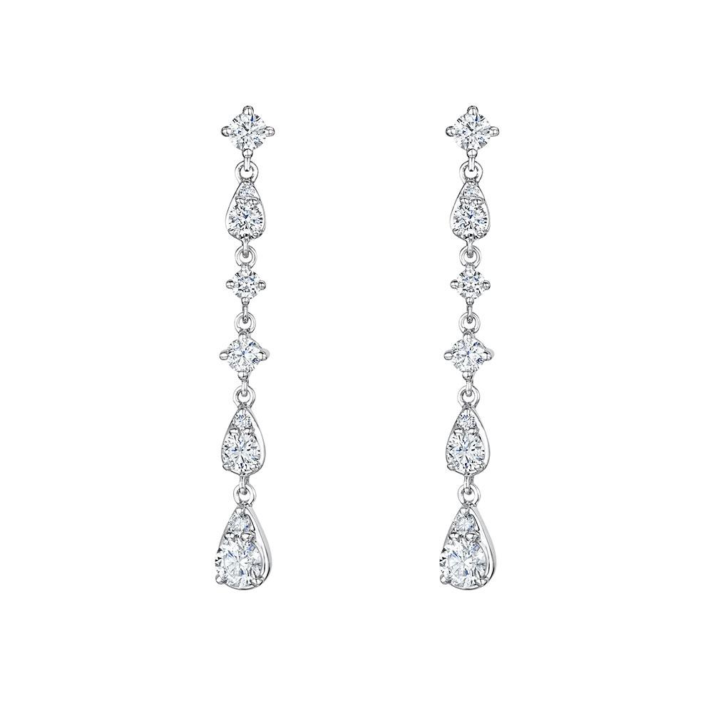 Diamond Drop Earrings 1.09cts