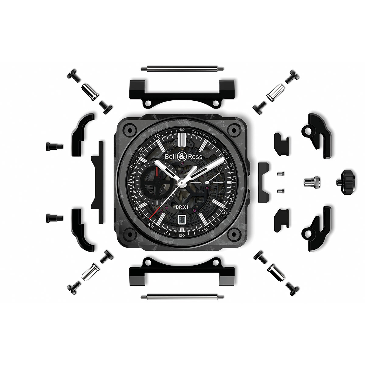 Bell & Ross Brx1 Carbon Forgé