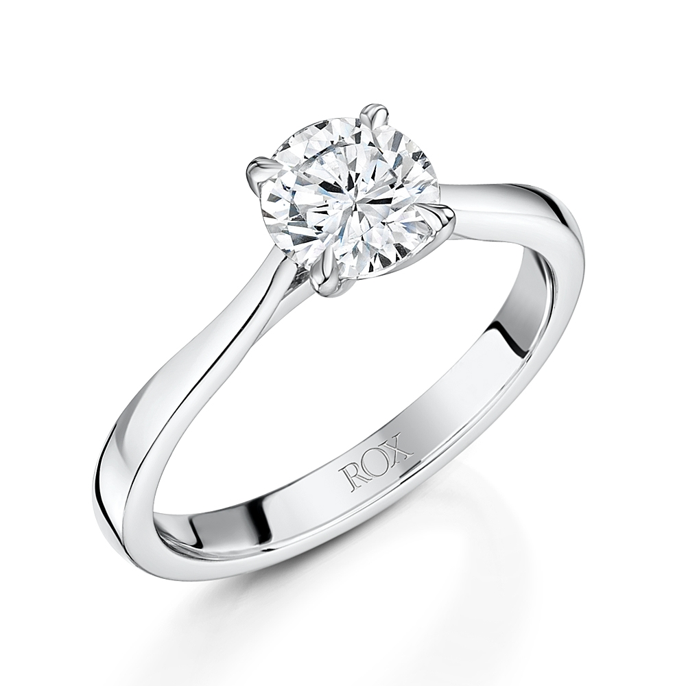 ROX Honour Brilliant Cut Diamond Ring 1.01cts