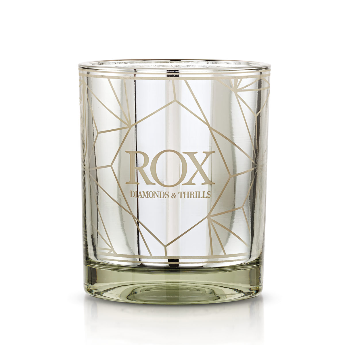 ROX Luxe Lime & Rhubarba Scented Candle