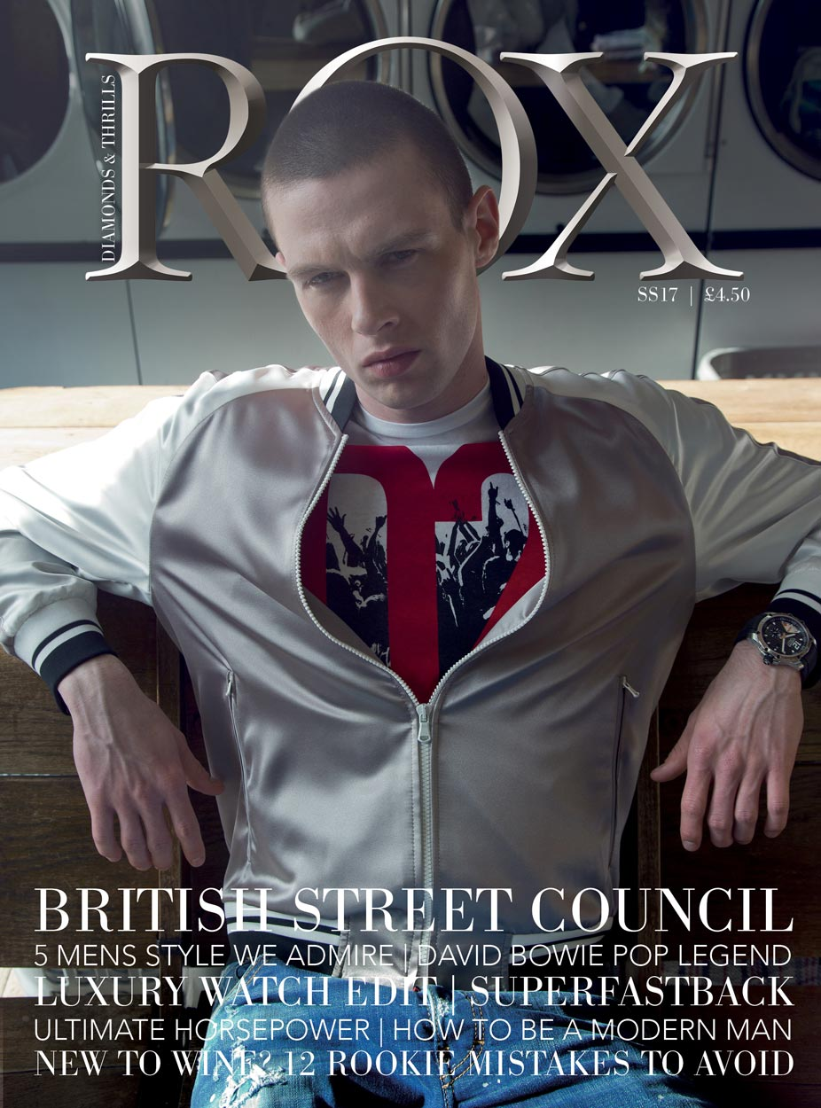 SS17 ROX Man Magazine Cover