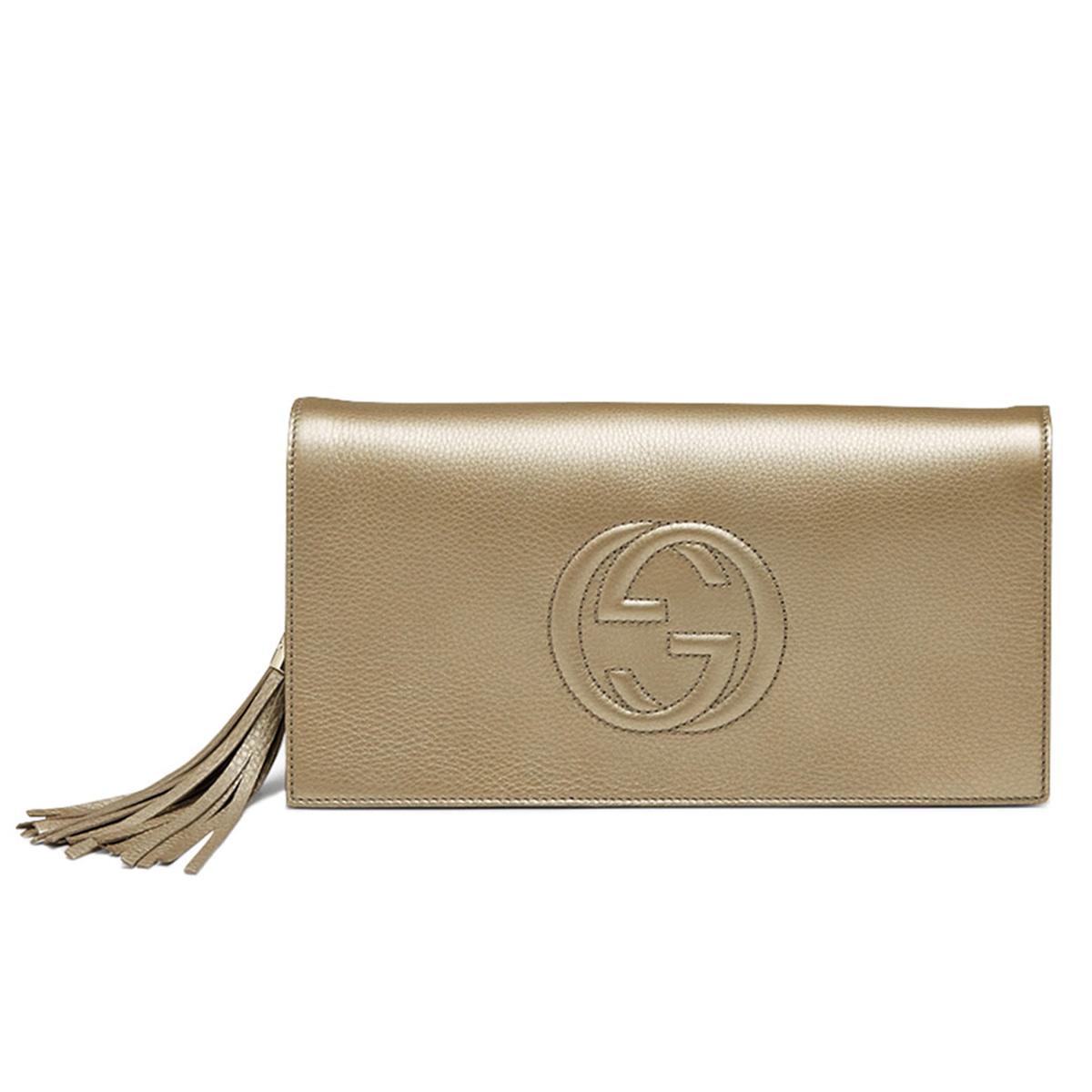 bc-gucci-soho-metallic-leather-clutch-gold