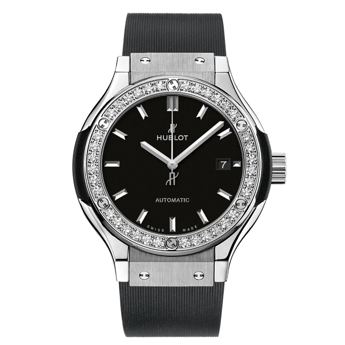 Hublot Classic Fusion Titanium Diamond Watch 33 mm