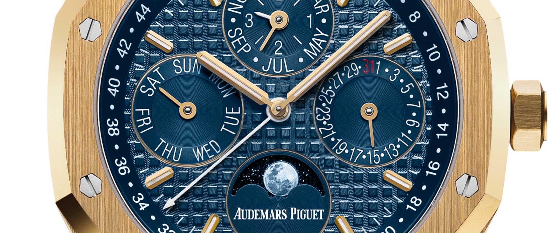 Audemars Piguet Royal Oak Perpetual Calendar In Yellow Gold
