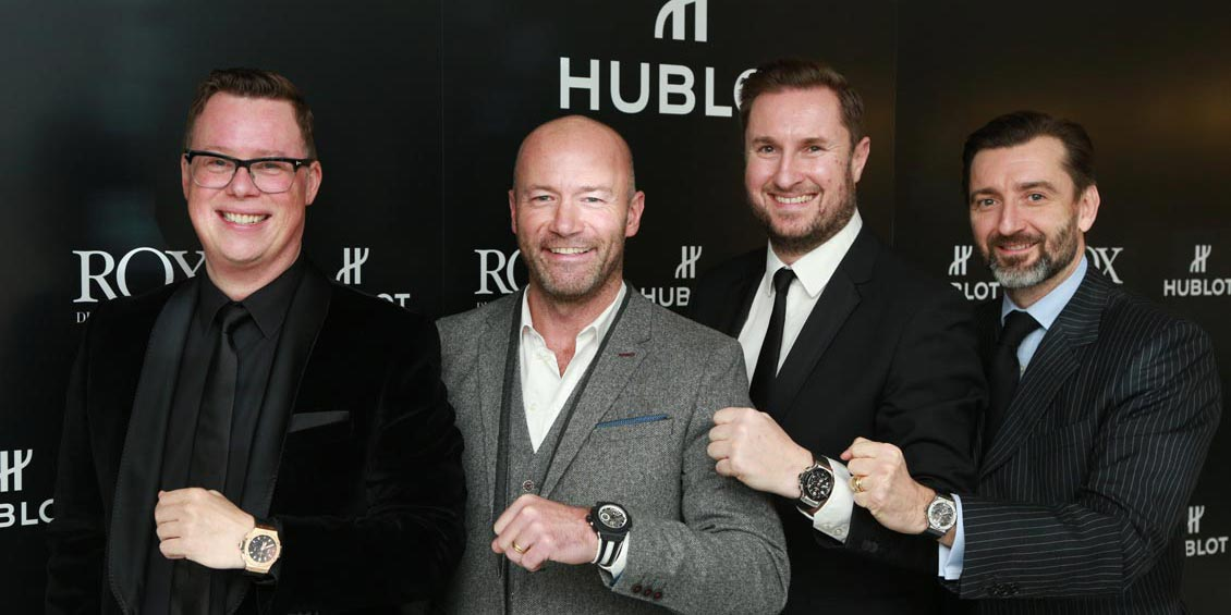 ROX PRESENTS... HUBLOT ALL BLACK WITH ALAN SHEARER