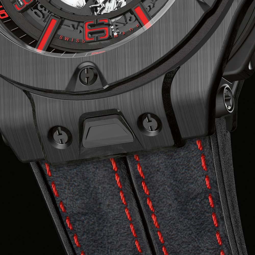 Hublot Big Bang Ferrari Carbon Strap