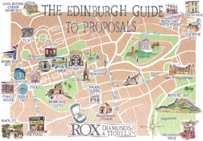 Edinburgh Proposal Guide Map