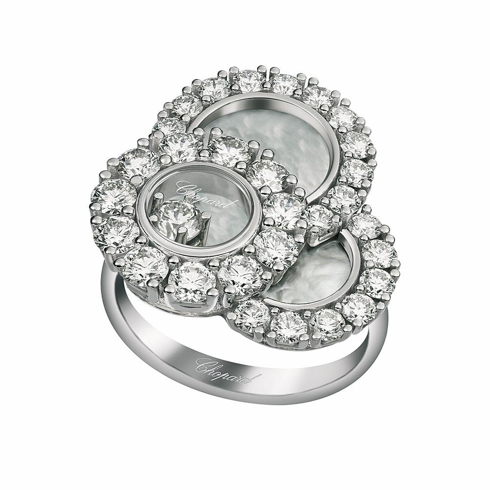Chopard Happy Diamonds Ring 1.92cts