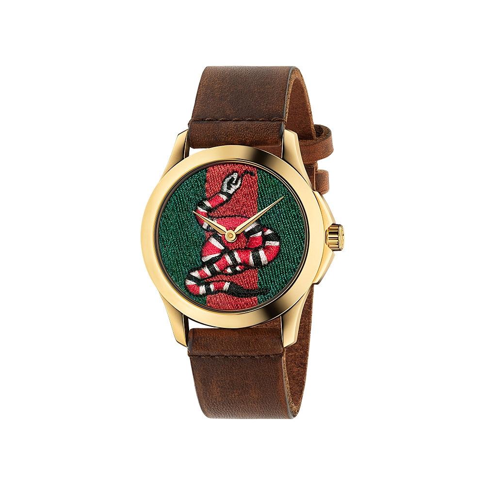 Gucci Le Marche Des Merveilles Snake Watch