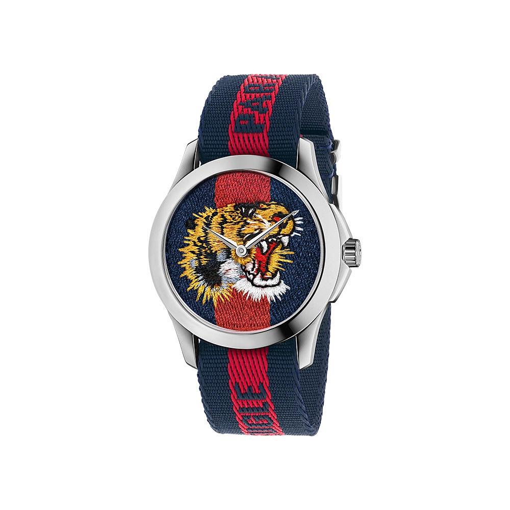 Gucci Le Marche Des Merveilles Tiger Watch