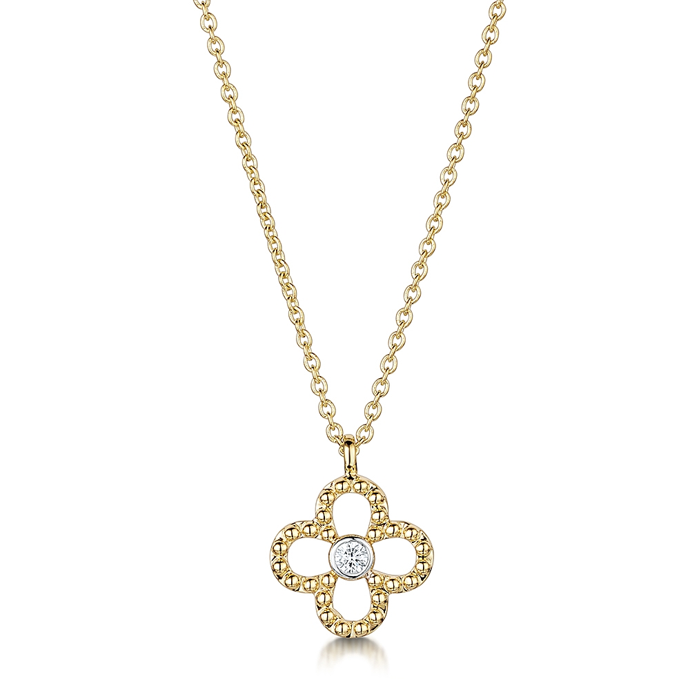 Miss ROX Diamond Pendant