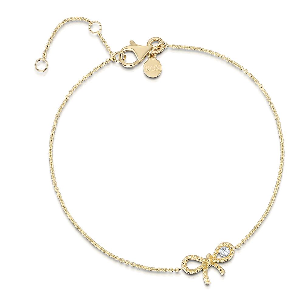 Miss ROX Diamond Bow Bracelet