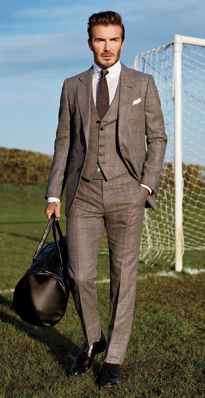 5 Men's Style We Admire - David Beckham