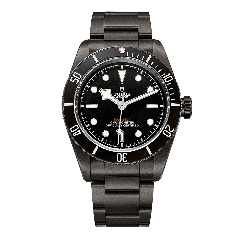 Tudor Heritage Black Bay Dark Bracelet Watch M79230DK-0008