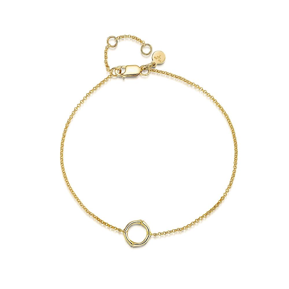 Bamboo Yellow Bracelet