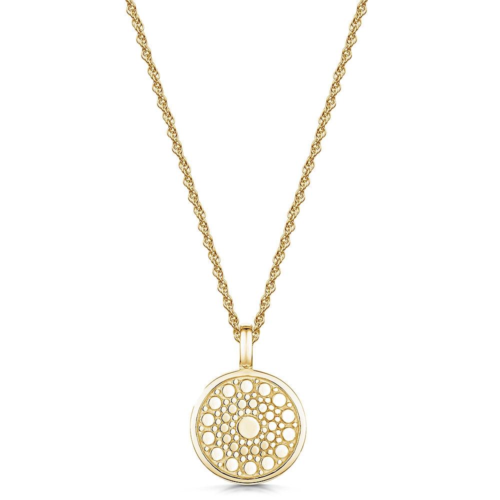 ROX Boho Yellow Necklace