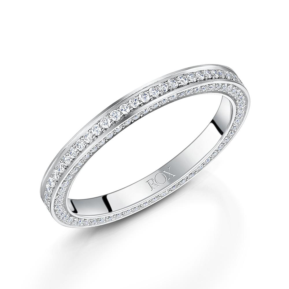 Diamond Wedding Ring 0.55cts