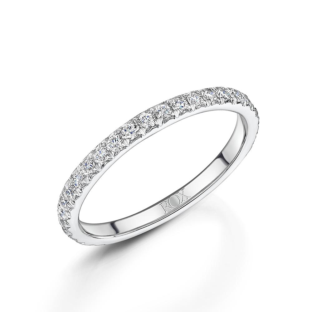 ROX Diamond Wedding Ring 0.43cts