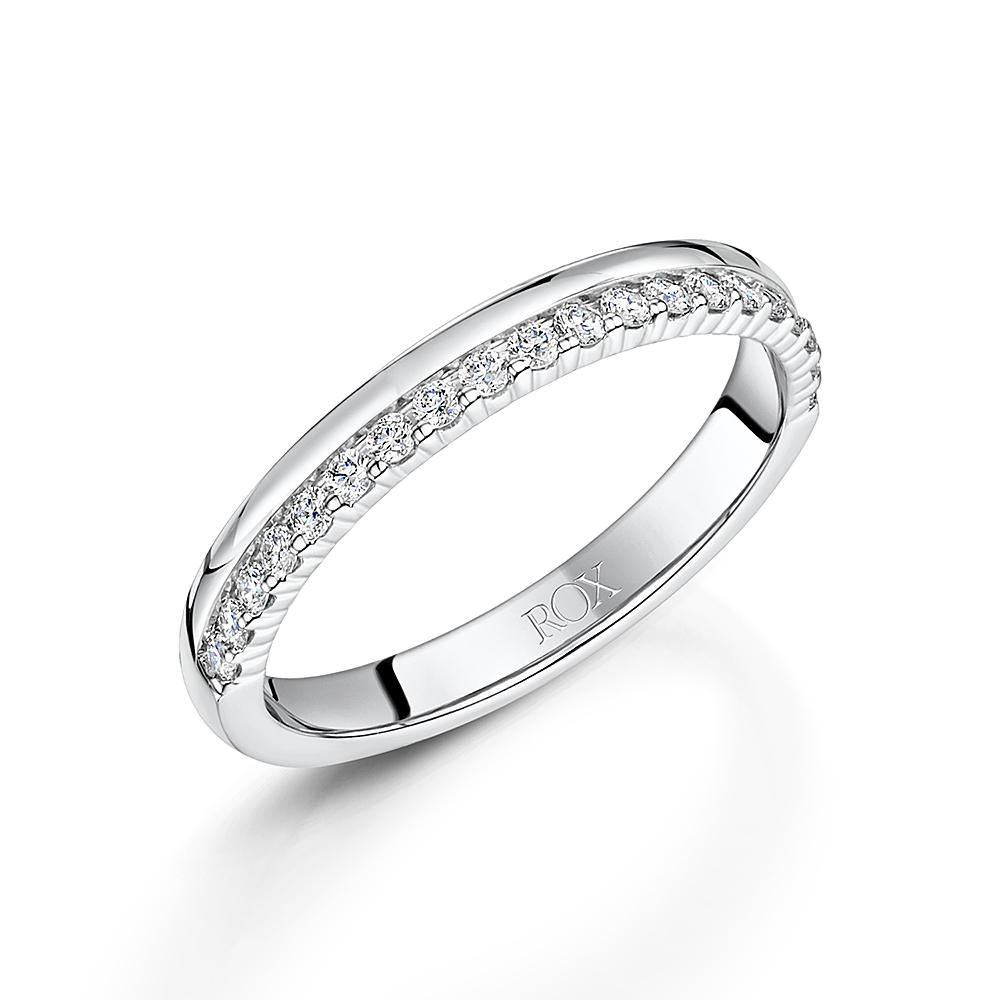 ROX Diamond Wedding Ring 0.25cts