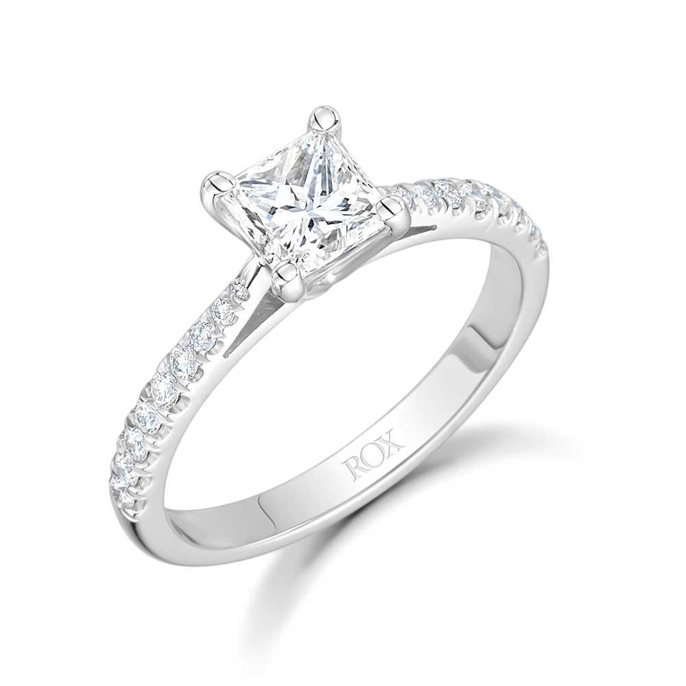 ROX Classic Princess Diamond Ring