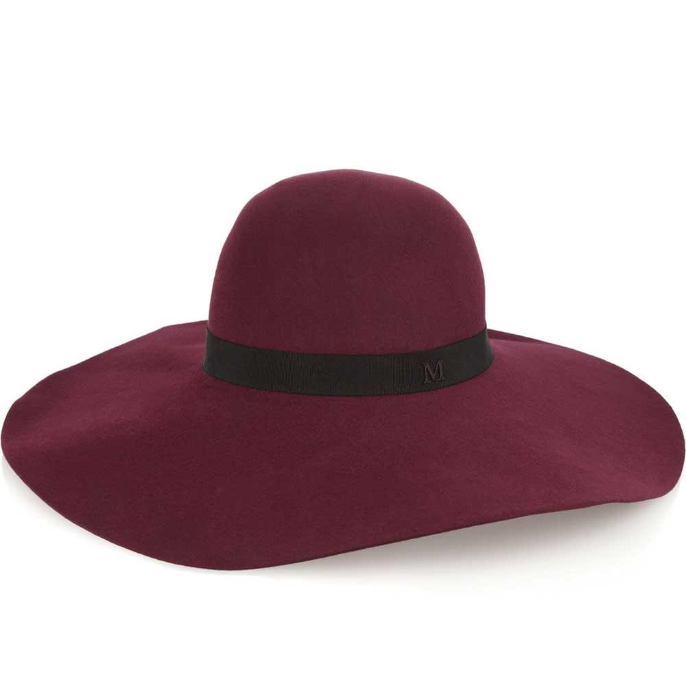 Maison Michel Blanche Rabbit-felt Hat