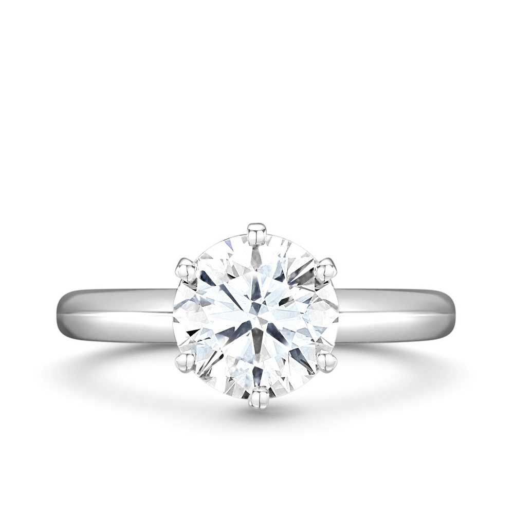 ROX Brilliant Cut Diamond Ring