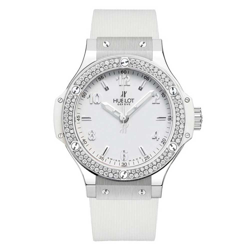 Ladies White Hublot Big Bang