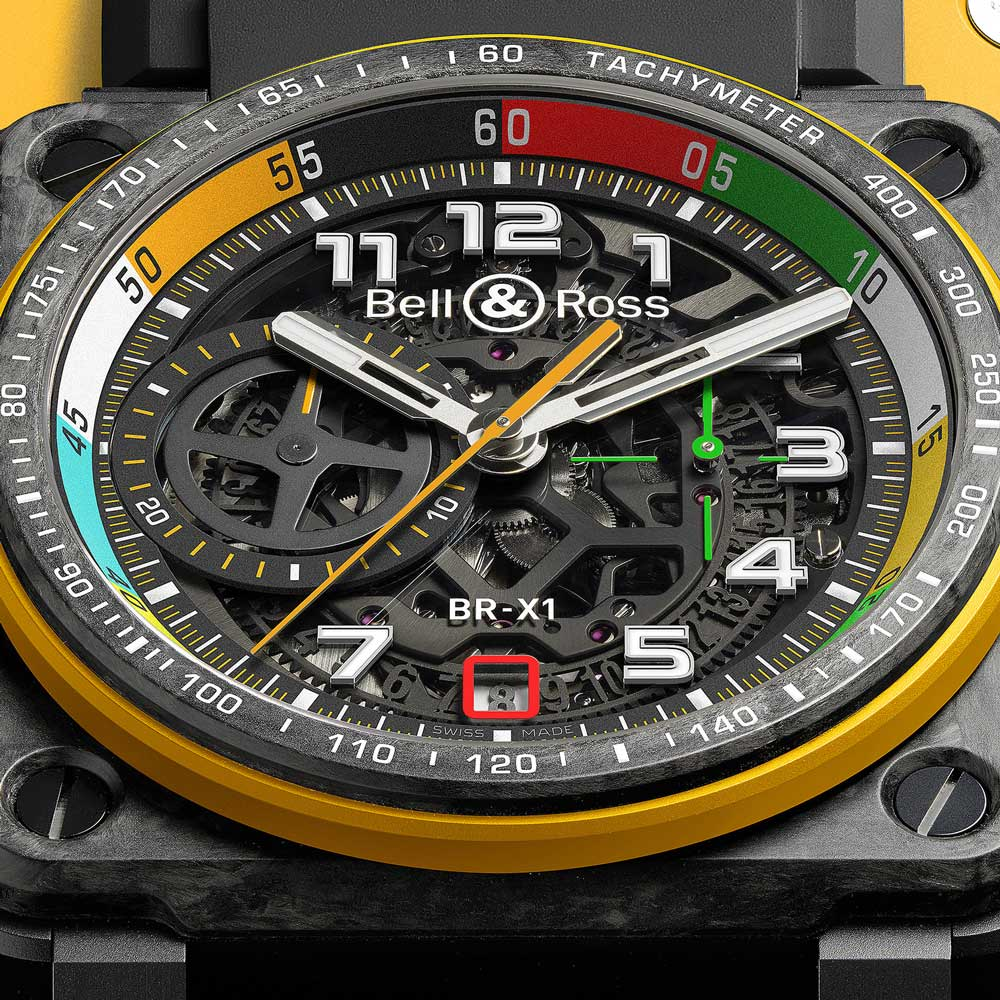Bell & Ross BR-X1 RS17 Dial