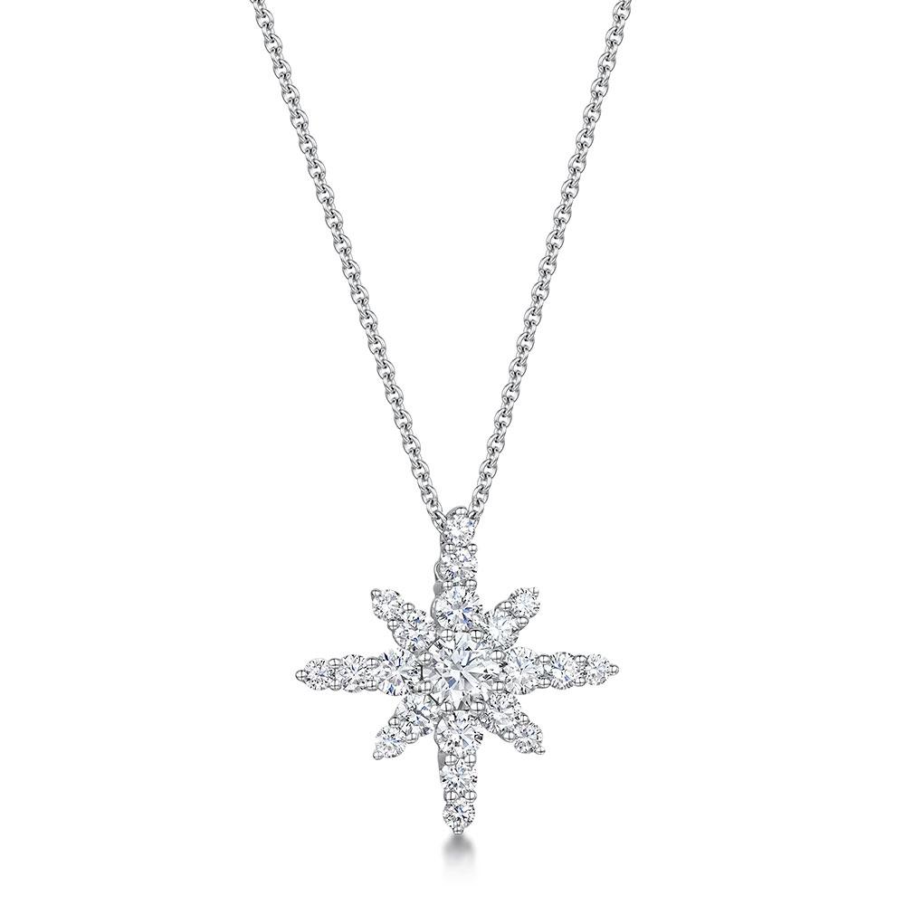 ROX Diamond Star Pendant 1.28cts