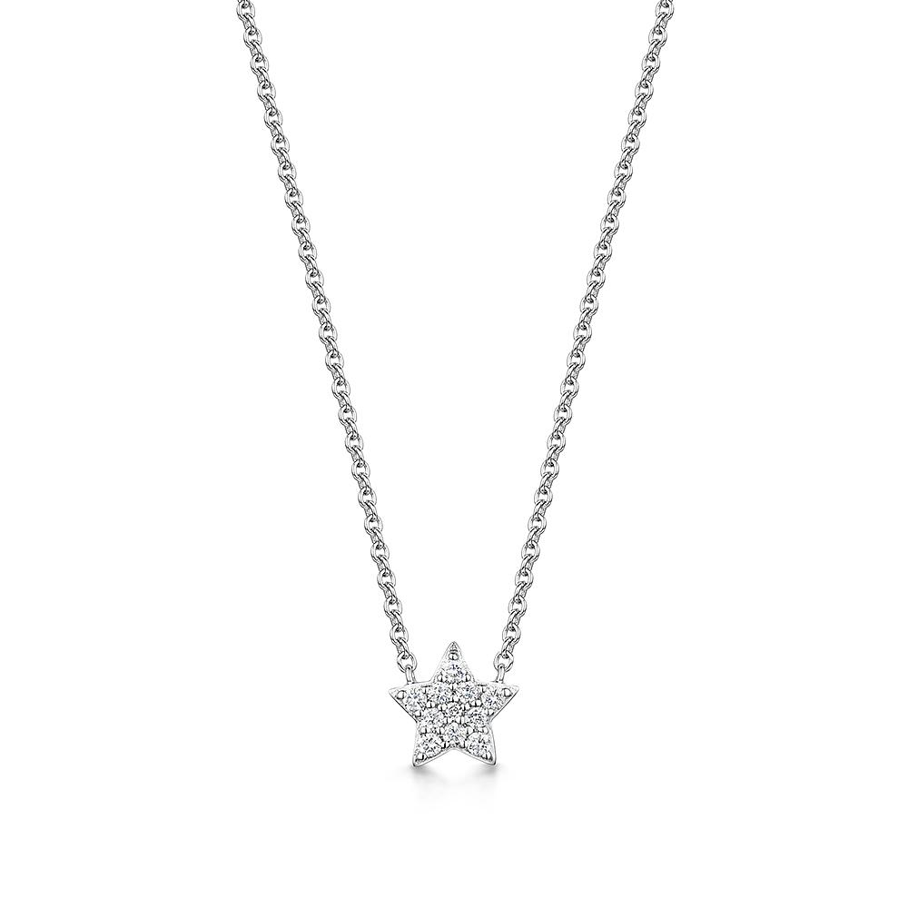 ROX Diamond Star Pendant 0.10cts