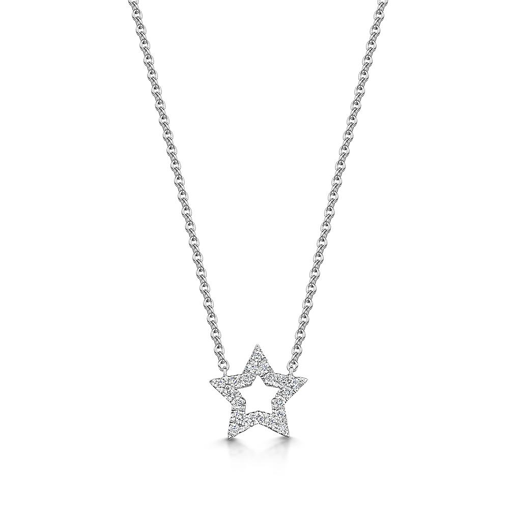 ROX Diamond Star Pendant 0.11cts