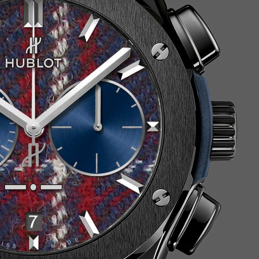 Hublot Classic Fusion with a Tartan Touch