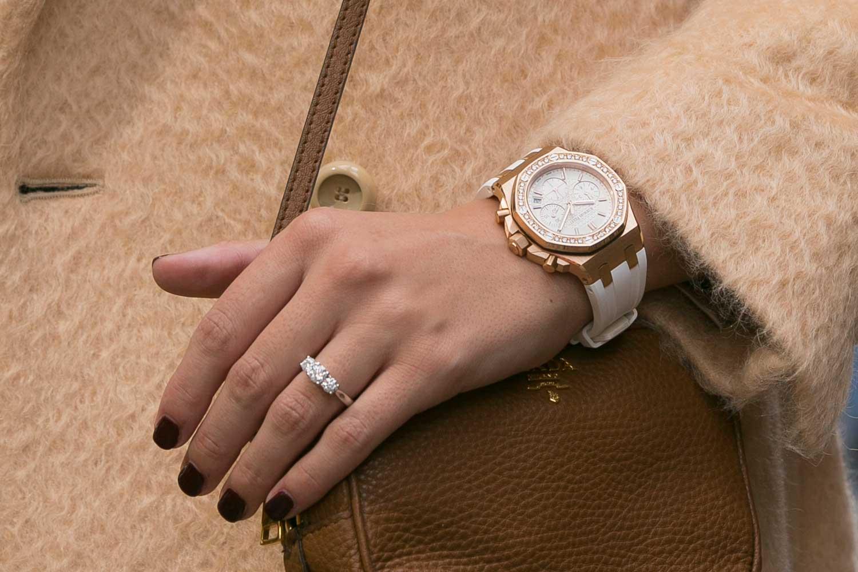ROX Emerald Cut Engagement Ring & Audemars Piguet Watch