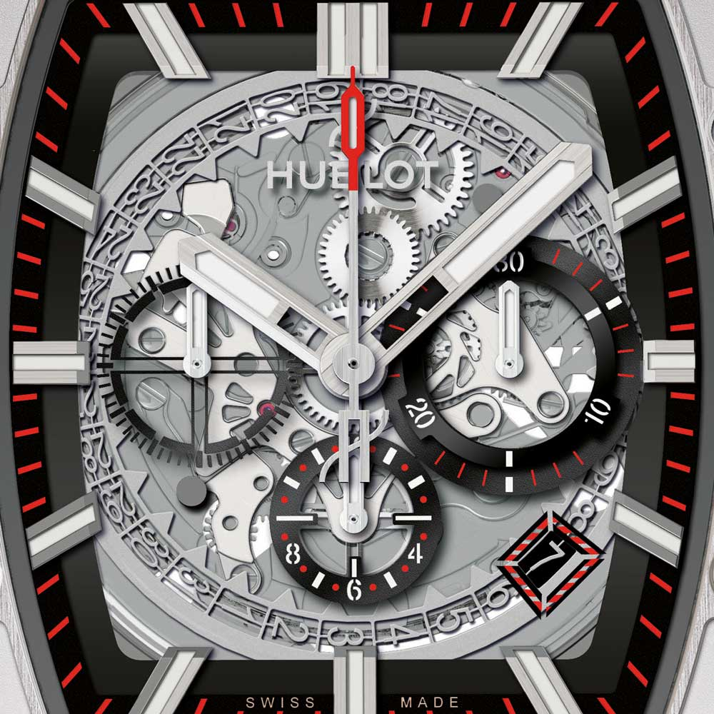 Hublot Spirit of Big Bang Titanium Watch dial