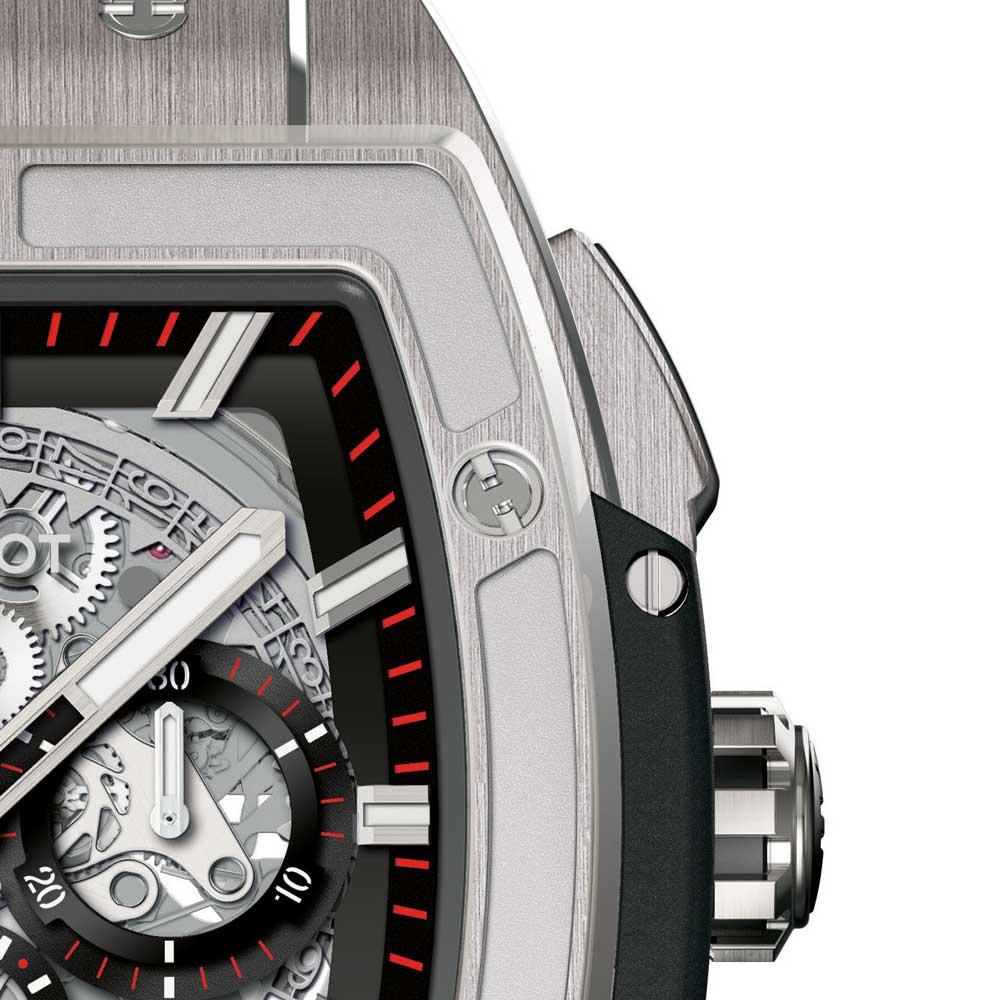 Hublot Spirit of Big Bang Titanium Watch crown