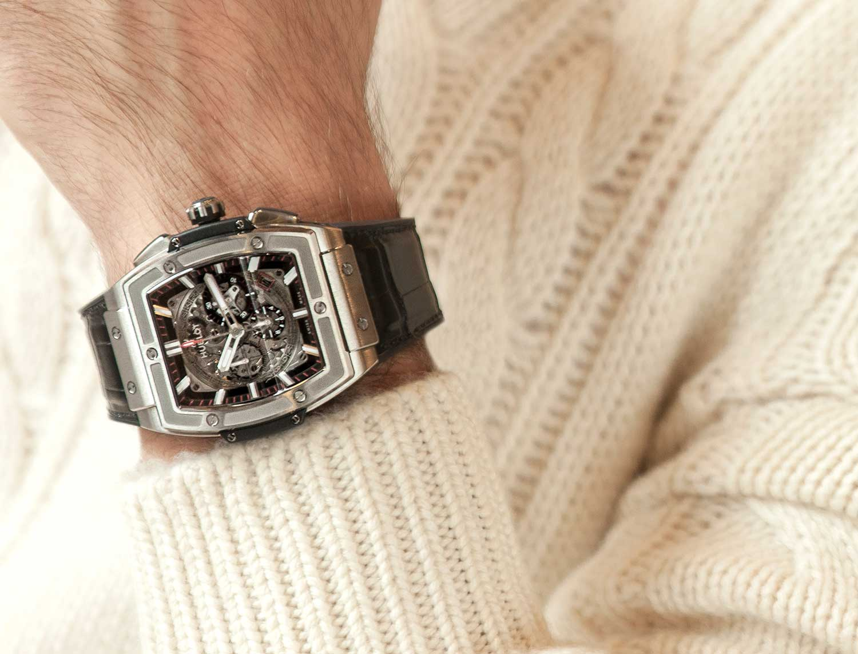 Hublot Spirit of Big Bang Titanium Watch | ROX MAGAZINE