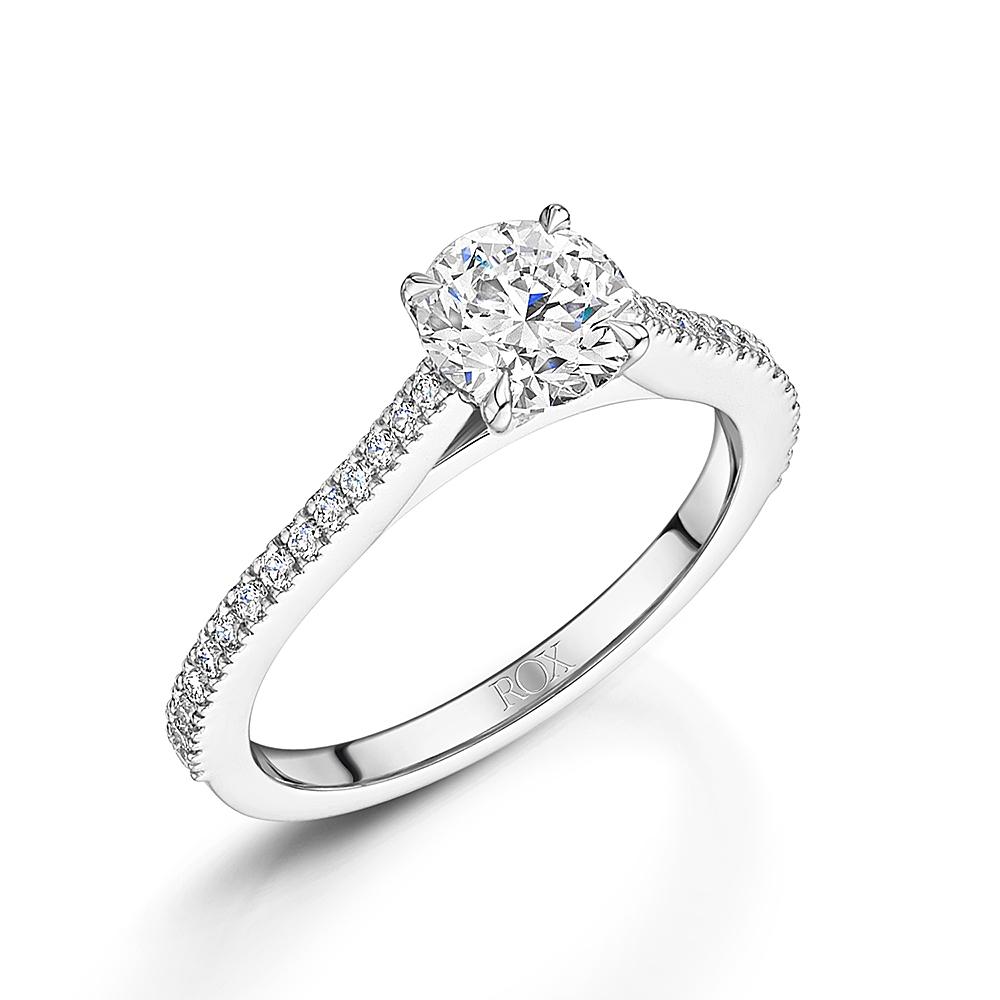 ROX Loves Brilliant Diamond Engagement Ring