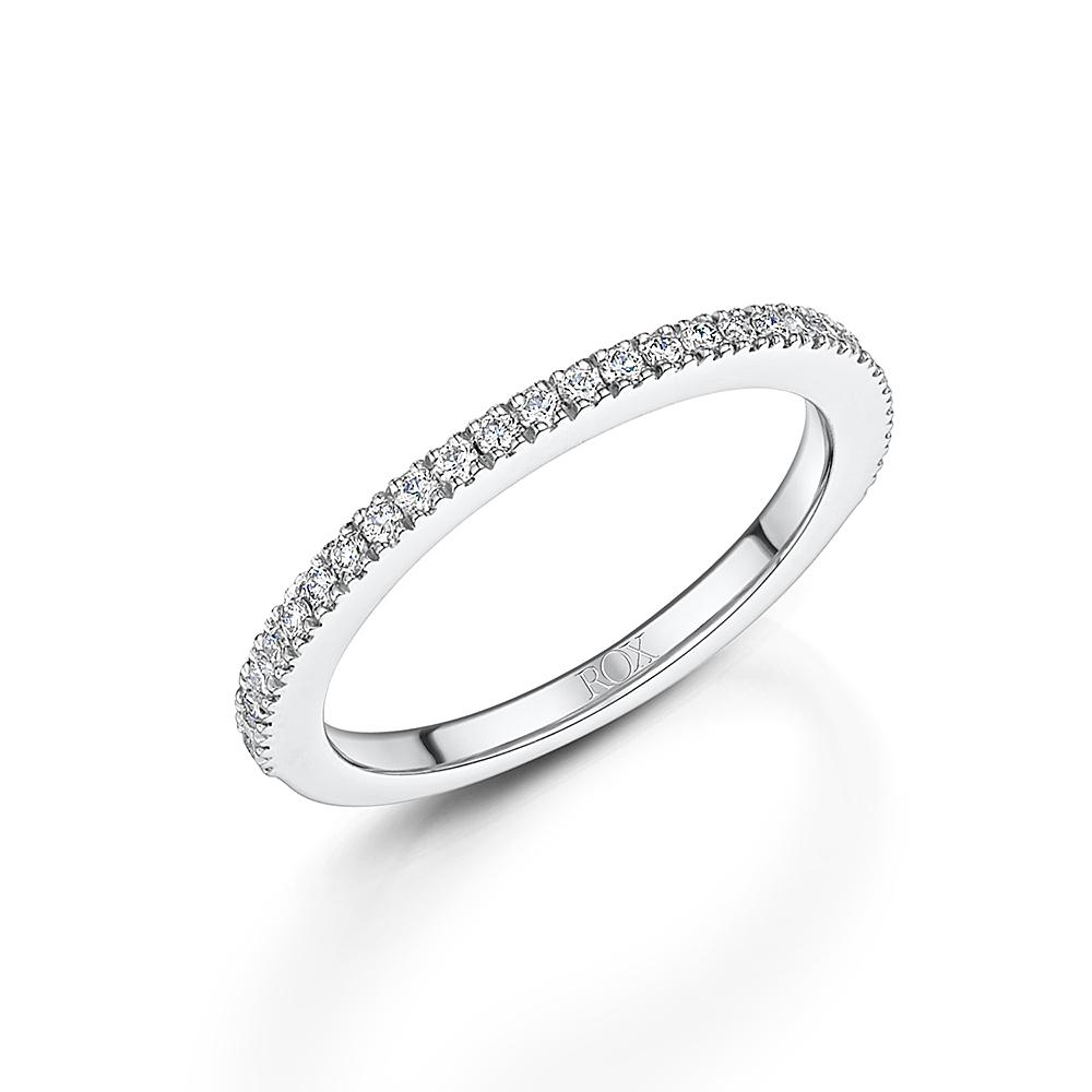 Diamond Set Ladies Wedding Ring