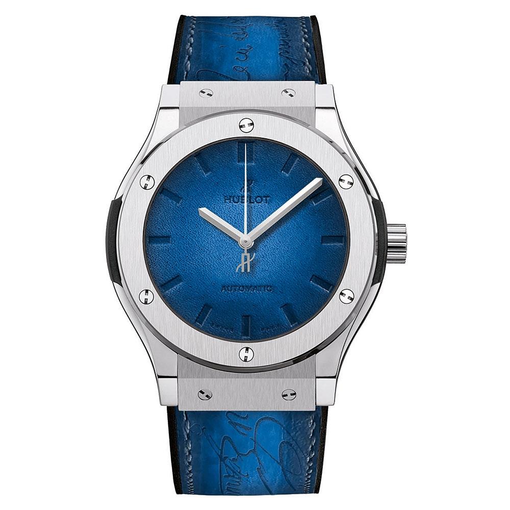 Hublot Classic Fusion Berluti Blue Watch