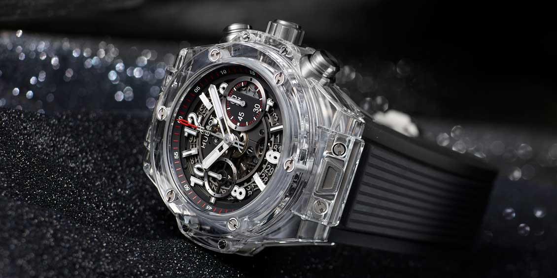 Hublot Unico Black Magic Sapphire 45mm Watch