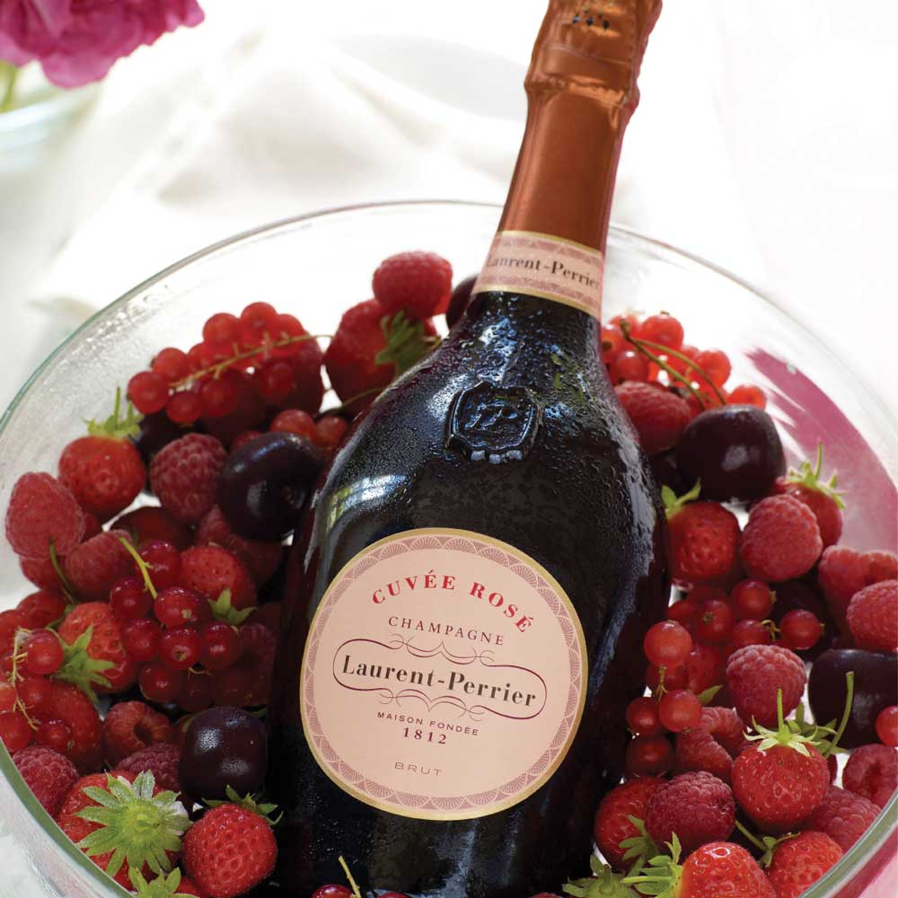 Laurent-Perrier Champagne Cuvee Rose