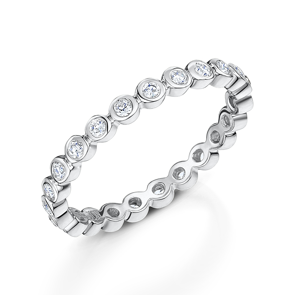 ROX Diamond Stacking Ring 0.31cts