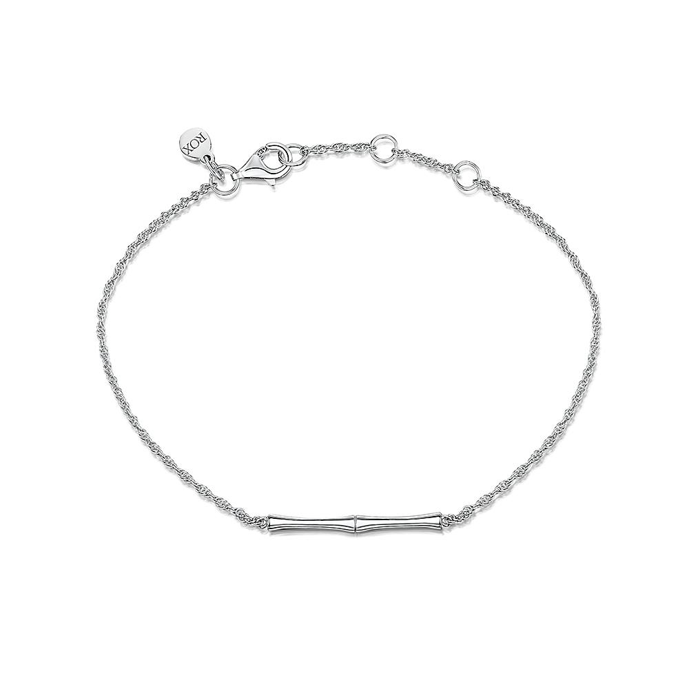 ROX Bamboo Sterling Silver Bar Bracelet