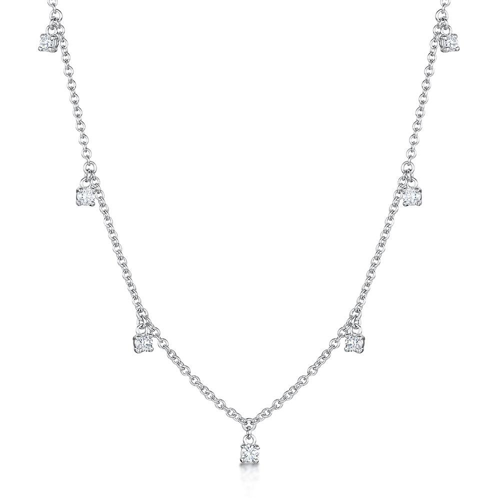 ROX Diamond Droplet Pendant 0.30cts