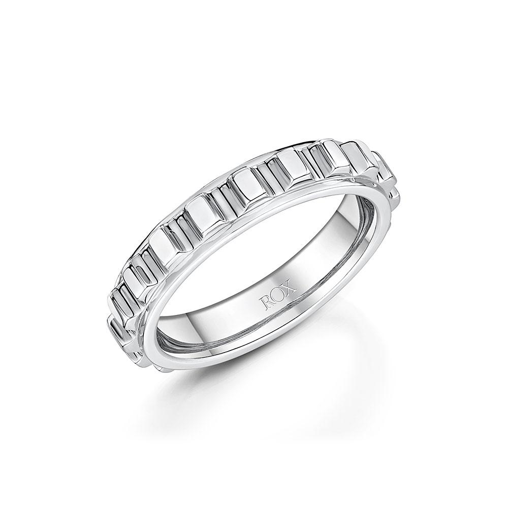ROX Synchro Silver Ring