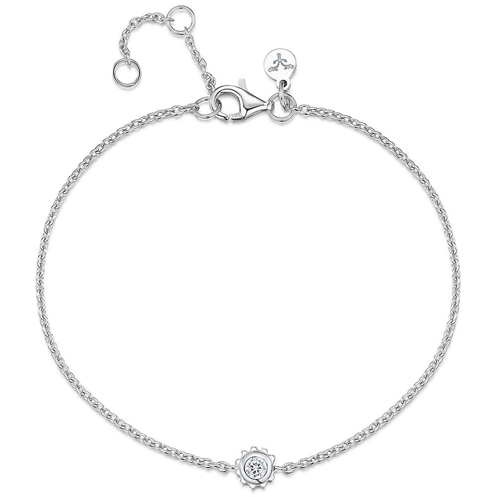 ROX Synchro Sterling Silver CZ Bracelet