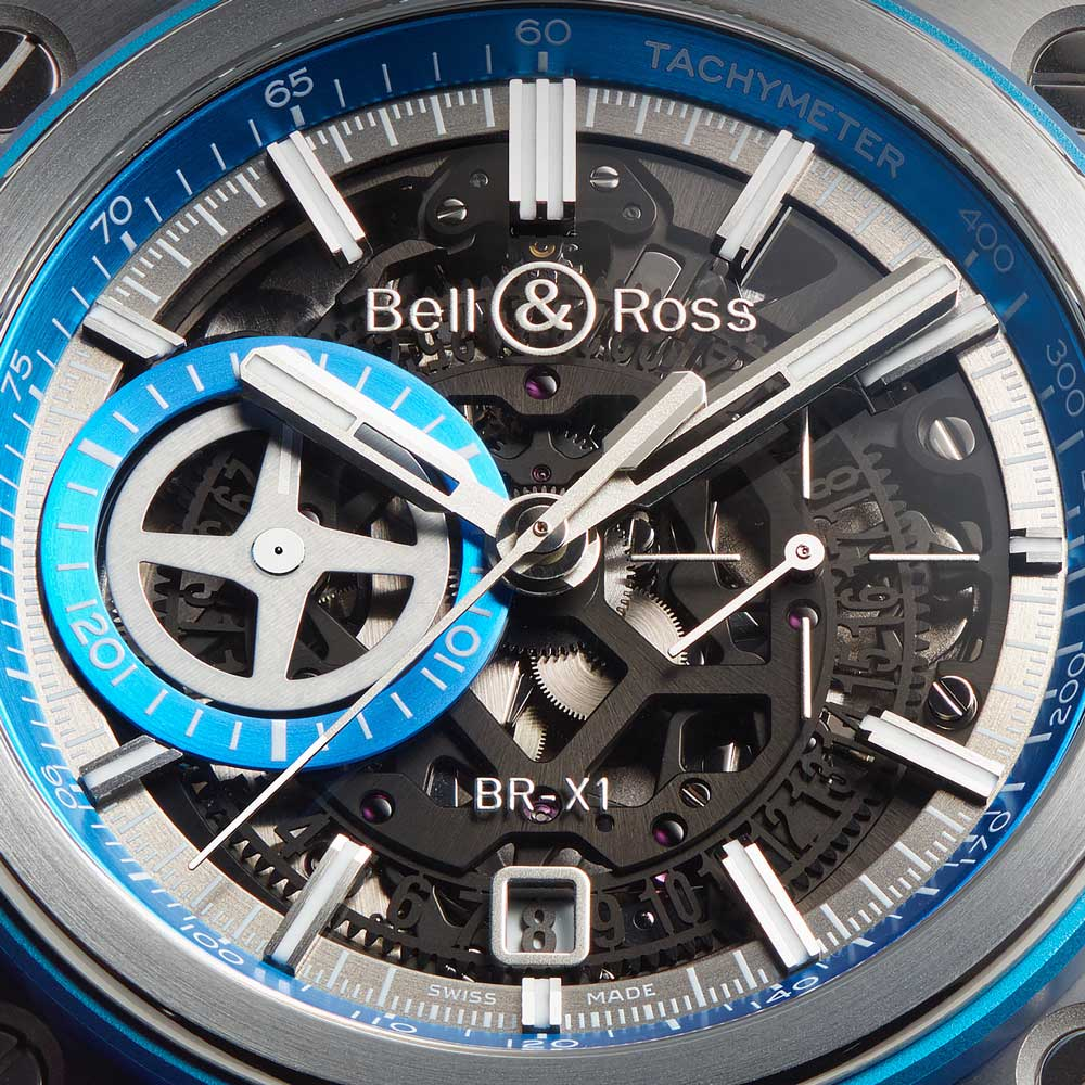 BR X1 HyperStellar Watch Dial