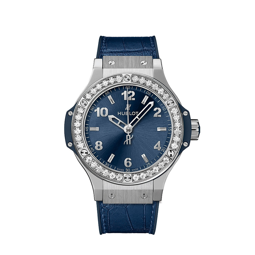 Hublot Big Bang Blue Diamond Watch