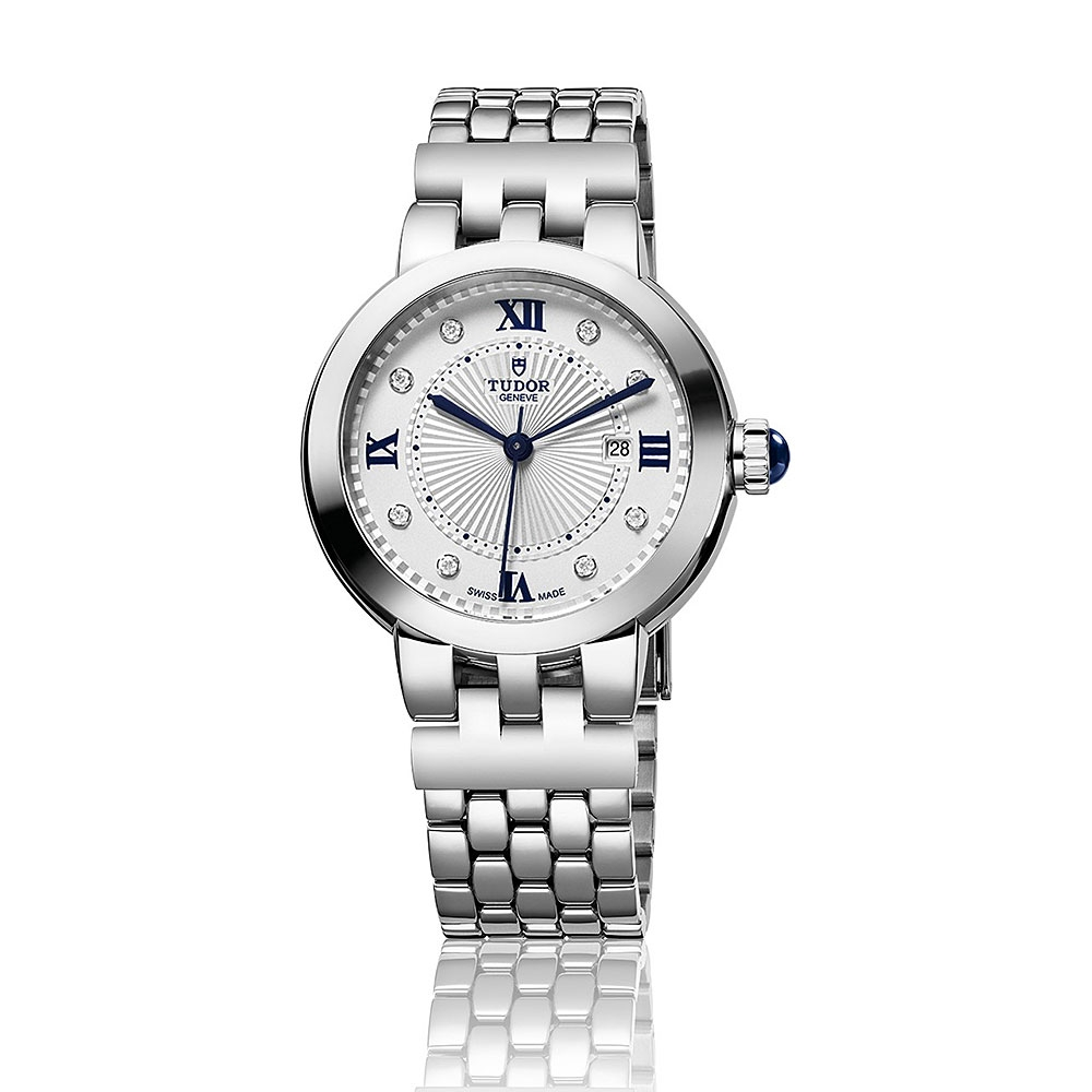 Tudor Clair De Rose Diamond Dot 34mm Watch