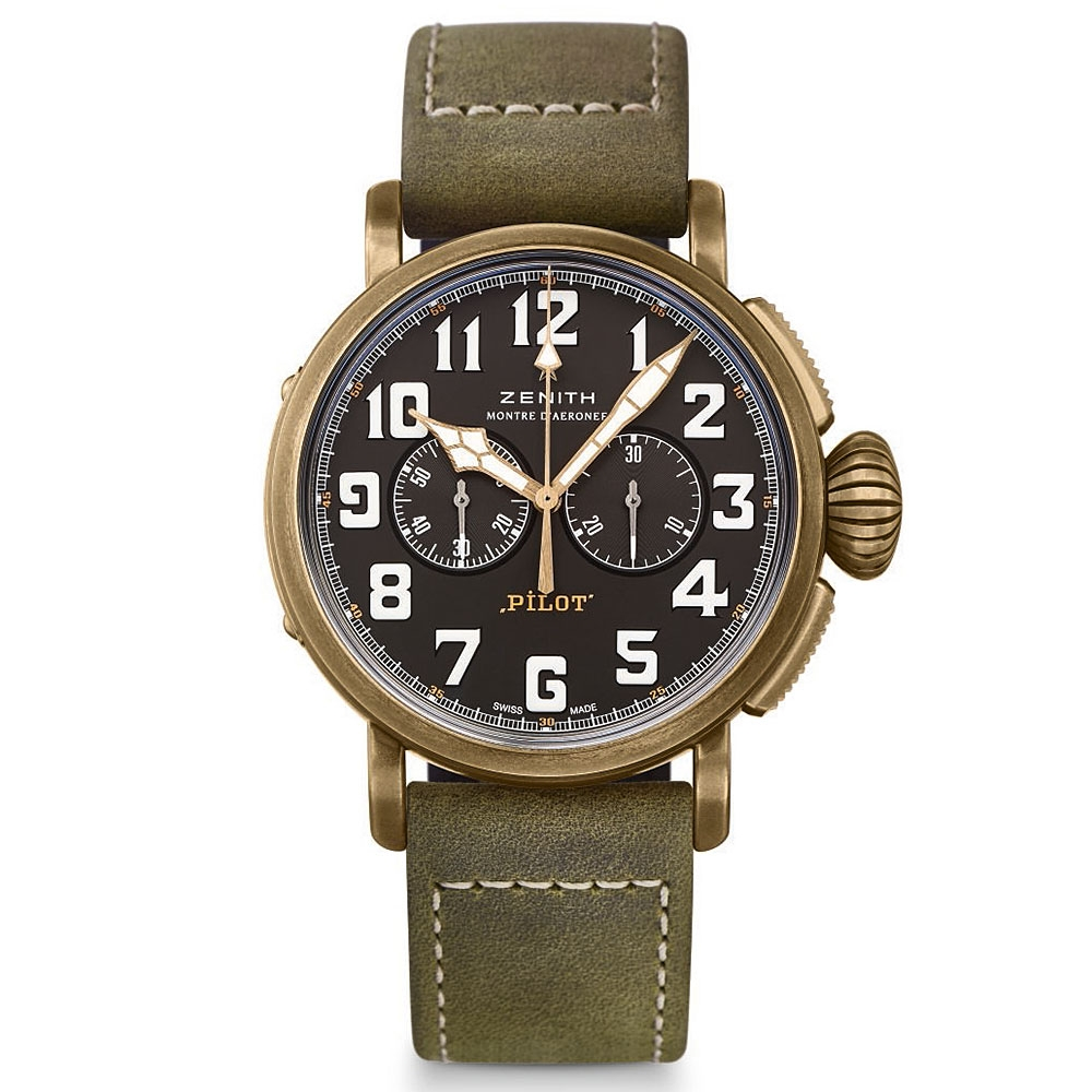 Zenith Pilot Bronze Extra Special 45mm Watch